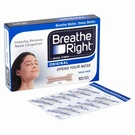 Breathe Right Original Nasal Strips Large (10 Strips)