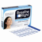 Breathe Right Clear Nasal Strips (10 Strips)