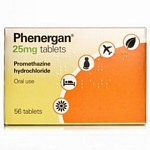 Phenergan Tablets 25mg (56 Tabs)