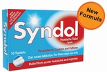 Syndol Headache Relief Tablets (10/30 tablets)