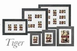 Tiger Wood Picture Frame