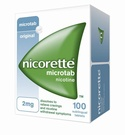 Nicorette Microtab 2mg (100 Tablets)