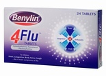 Benylin 4 Flu Tablets (24 Tablets)