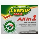 Lemsip Max All In One Cold and Flu Capsules (16 Caps)