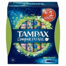 Tampax Compak Pearl Super Applicator Tampons Single (18)
