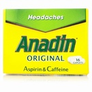 Anadin Tablets (16 Caplets)