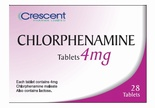 Chlorphenamine 4mg Tablets (28 Tablets)