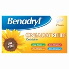 Benadryl One A Day Relief (7 Tablets)
