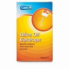 Care Olive Oil Ear Drops (10ml)
