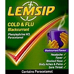 Lemsip Cold & Flu - Blackcurrant Flavour (10)