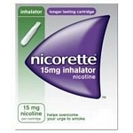 Nicorette 15mg inhalator (4 cartridges)